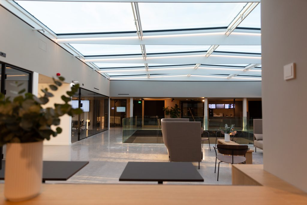 Impression of the top floor by Jelle Baars